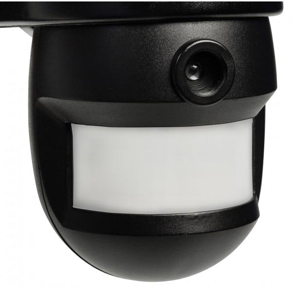 lampe d 39 ext rieur konig avec cam ra int gr e et capteur de mouvement. Black Bedroom Furniture Sets. Home Design Ideas