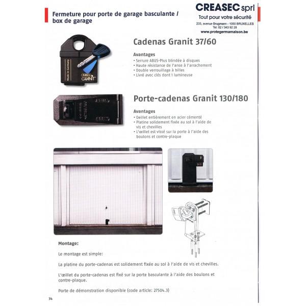 Cadenas pour garage jv diffusion - Cadenas pour porte de garage ...