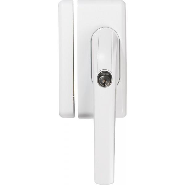 Poign e a clef avec verrou for Poignee de fenetre securite