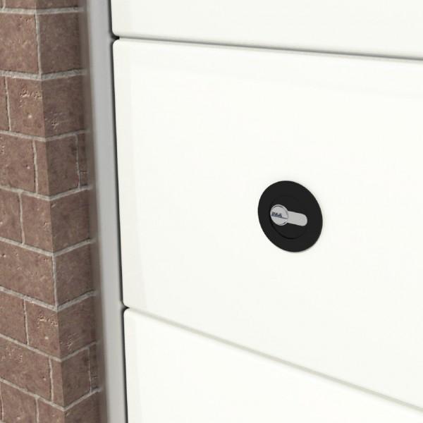 acheter un verrou pour porte sectionnelle. Black Bedroom Furniture Sets. Home Design Ideas