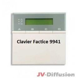 Clavier Scantronics factice