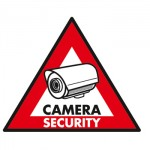 Sticker Proteger par cameras