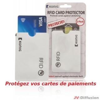 Protection pour cartes de paiements