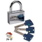Cadenas de sécurité Mul-T-Lock Serie C