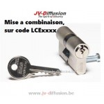 Cylindre ISEO sur code LCE