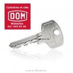 Copies de clé Dom ix