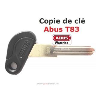 Copie clé ABus T82 et T83