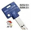 copie clef MUL-T-Lock 252S