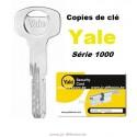copie de clé YALE série 1000