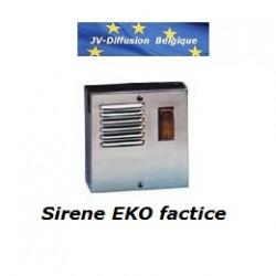 Acheter une vrai sir ne factice for Sirene exterieure factice