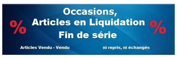 Liquidation - fin de série