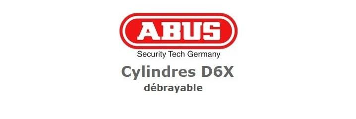 Cylindre Abus D6X débrayable