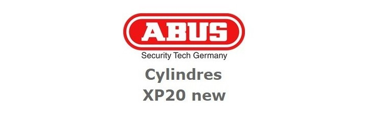 Cylindre Abus XP20 New 2018