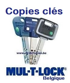 Copies de clé Mul-T-Lock